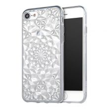 ETUI CASSY DIAMOND IPHONE 7/8 CLEAR SILVER