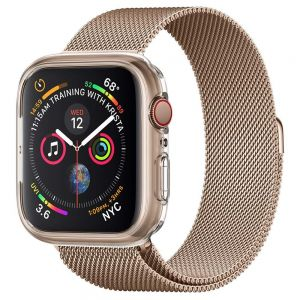 ETUI SPIGEN LIQUID CRYSTAL APPLE WATCH 4 (44MM) CRYSTAL CLEAR