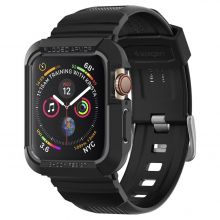 "ETUI+PASEK SPIGEN RUGGED ARMOR ""PRO"" APPLE WATCH 4/5 (44MM) BLACK"