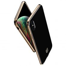 ETUI SPIGEN LA MANON IPHONE XS MAX GOLD BLACK