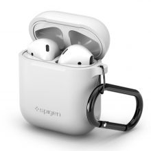 ETUI SPIGEN AIRPODS CASE WHITE