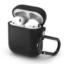 ETUI SPIGEN AIRPODS CASE BLACK