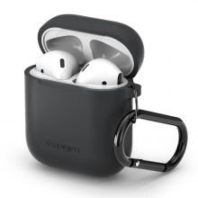 ETUI SPIGEN AIRPODS CASE CHARCOAL