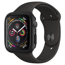 ETUI SPIGEN THIN FIT APPLE WATCH 4/5 (44MM) BLACK