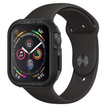 ETUI SPIGEN RUGGED ARMOR APPLE WATCH 4/5 (44MM) BLACK