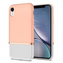 ETUI SPIGEN LA MANON JUPE IPHONE XR MILK PINK