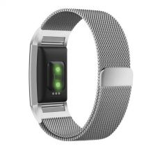 BRANSOLETA TECH-PROTECT MILANESEBAND FITBIT CHARGE 2 SILVER