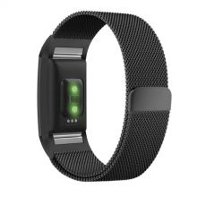 BRANSOLETA TECH-PROTECT MILANESEBAND FITBIT CHARGE 2 BLACK