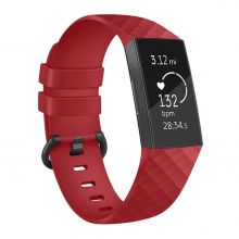 PASEK TECH-PROTECT SMOOTH FITBIT CHARGE 3 RED