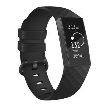 PASEK TECH-PROTECT SMOOTH FITBIT CHARGE 3 BLACK