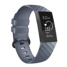PASEK TECH-PROTECT SMOOTH FITBIT CHARGE 3 GREY