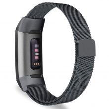 BRANSOLETA TECH-PROTECT MILANESEBAND FITBIT CHARGE 3 BLACK