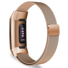 BRANSOLETA TECH-PROTECT MILANESEBAND FITBIT CHARGE 3 ROSE GOLD