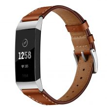 PASEK TECH-PROTECT HERMS FITBIT CHARGE 3 BROWN