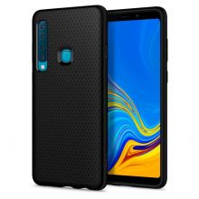 ETUI SPIGEN LIQUID AIR GALAXY A9 2018 BLACK