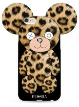 ETUI CASSY TEDDY BEAR IPHONE 6/6S LEOPARD