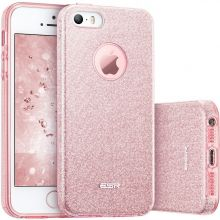 ETUI ESR GLITTER SHINE IPHONE 5S/5SE ROSE GOLD