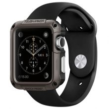 ETUI SPIGEN TOUGH ARMOR APPLE WATCH 1/2/3 (42MM) GUNMETAL