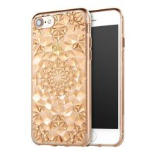 ETUI CASSY DIAMOND IPHONE 6/6S CLEAR GOLD