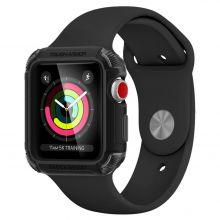 ETUI SPIGEN TOUGH ARMOR 2 APPLE WATCH 1/2/3 (42MM) MATTE BLACK