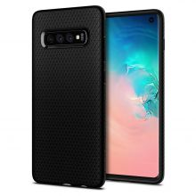 ETUI SPIGEN LIQUID AIR GALAXY S10 MATTE BLACK