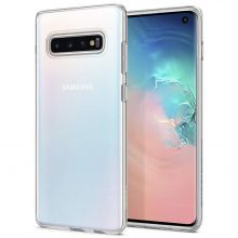ETUI SPIGEN LIQUID CRYSTAL GALAXY S10 CRYSTAL CLEAR