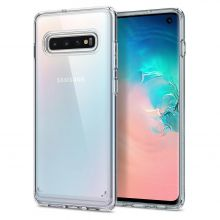 ETUI SPIGEN ULTRA HYBRID GALAXY S10 CRYSTAL CLEAR