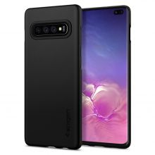 ETUI SPIGEN THIN FIT GALAXY S10+ PLUS BLACK