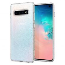 ETUI SPIGEN LIQUID CRYSTAL GALAXY S10+ PLUS GLITTER CRYSTAL QUARTZ