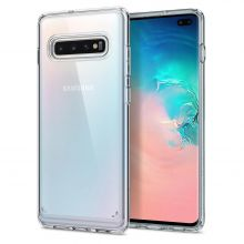 ETUI SPIGEN ULTRA HYBRID GALAXY S10+ PLUS CRYSTAL CLEAR