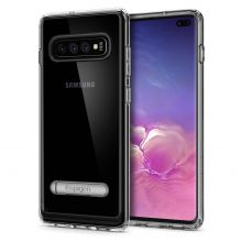 "ETUI SPIGEN ULTRA HYBRID ""S"" GALAXY S10+ PLUS CRYSTAL CLEAR"