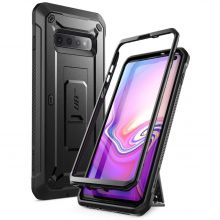 ETUI SUPCASE UNICORN BEETLE PRO GALAXY S10 BLACK