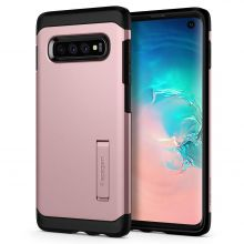 ETUI  SPIGEN TOUGH ARMOR GALAXY S10 ROSE GOLD