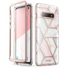 ETUI SUPCASE COSMO GALAXY S10 MARBLE