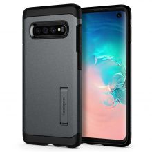 ETUI SPIGEN TOUGH ARMOR GALAXY S10 GRAPHITE GREY