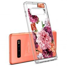 ETUI SPIGEN CIEL GALAXY S10+ PLUS ROSE FLORAL