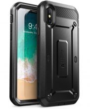 ETUI SUPCASE UNICORN BEETLE PRO IPHONE X/XS BLACK