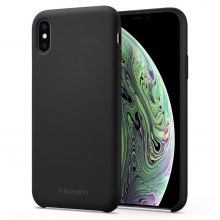 ETUI SPIGEN SILICONE FIT IPHONE XS MAX BLACK