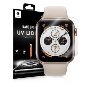 SZKŁO HARTOWANE MOCOLO UV GLASS APPLE WATCH 4 (40MM) CLEAR