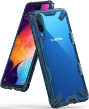ETUI RINGKE FUSION X GALAXY A50 SPACE BLUE