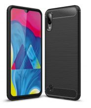 ETUI TECH-PROTECT TPUCARBON GALAXY A50 BLACK