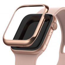 RINGKE BEZEL STYLING APPLE WATCH 1/2/3 (42MM) GLOSSY PINK GOLD