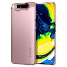 ETUI SPIGEN THIN FIT GALAXY A80 ROSE GOLD