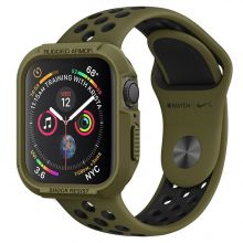 ETUI SPIGEN RUGGED ARMOR APPLE WATCH 4/5 (44MM) OLIVE GREEN