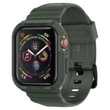 "ETUI + PASEK SPIGEN RUGGED ARMOR ""PRO"" APPLE WATCH 4/5 (44MM) MILITARY GREEN"