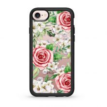 ETUI CASETIFY GRIP CASE RED ROSES IPHONE 7/8 BLACK
