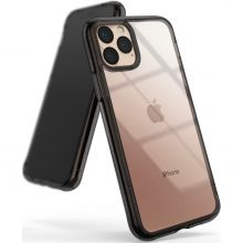 ETUI RINGKE FUSION IPHONE 11 PRO MAX SMOKE BLACK