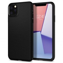 ETUI SPIGEN LIQUID AIR IPHONE 11 PRO MAX MATTE BLACK