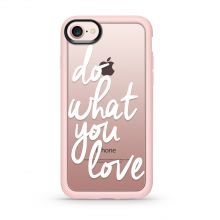ETUI CASETIFY GRIP CASE DO WHAT YOU LOVE IPHONE 7/8 PINK