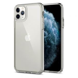 ETUI SPIGEN ULTRA HYBRID IPHONE 11 PRO MAX CRYSTAL CLEAR